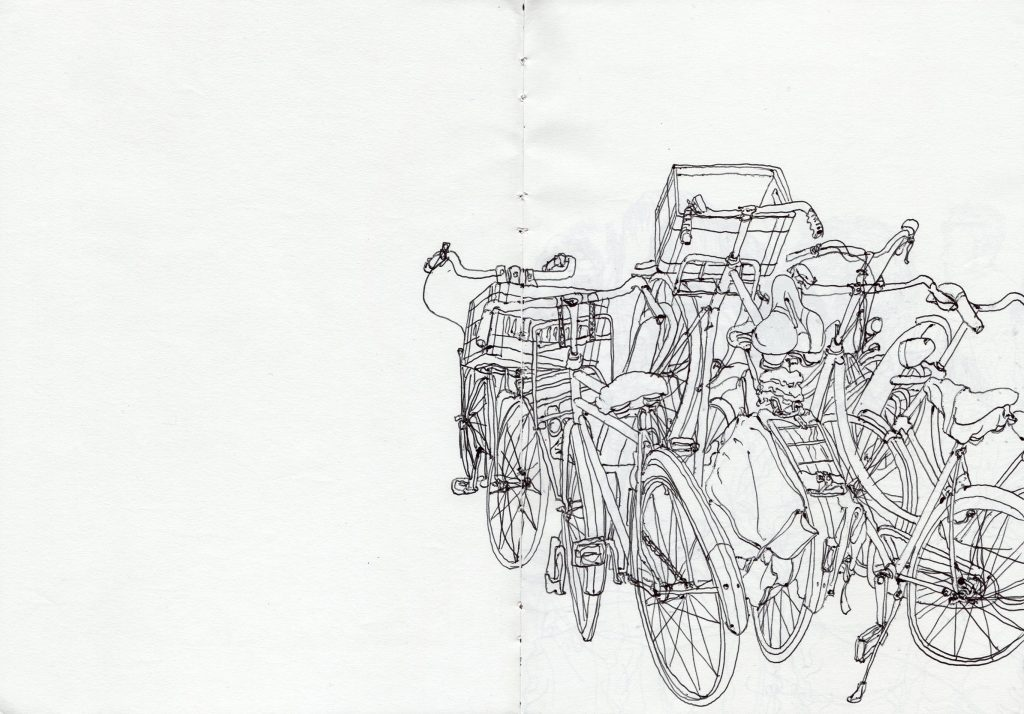 More bicycles.